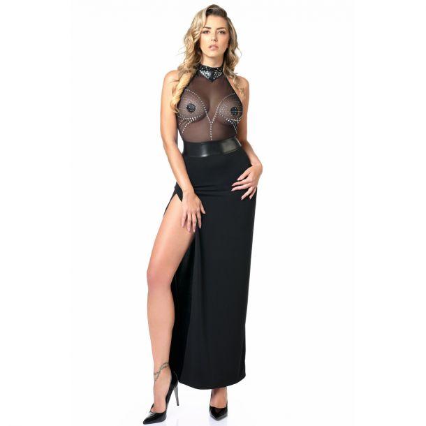 Backless Dress ISLA - Black