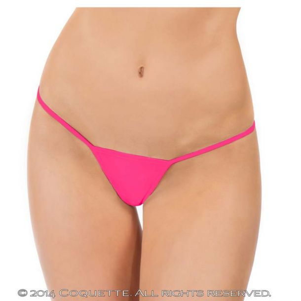 Micro G-String - Neon Pink*