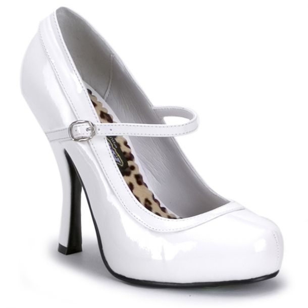 Mary Janes PRETTY-50 - White*