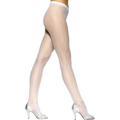 Fishnet Tights White*