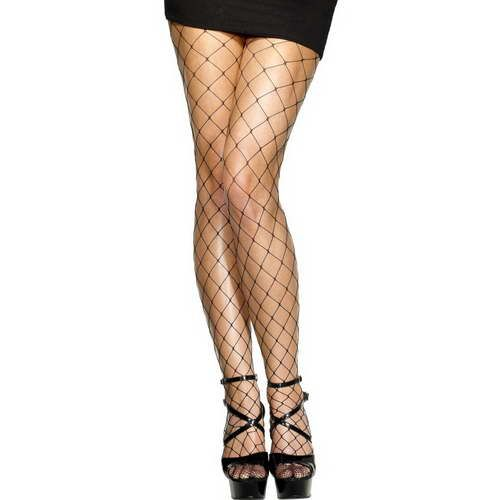Diamond Net Tights*