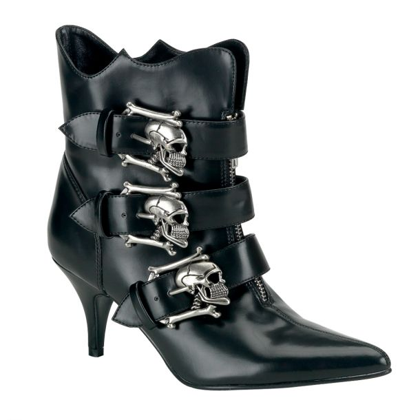 Gothic Ankle Boots FURY-06