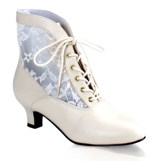 Ankle Boots DAME-05 - Ivory