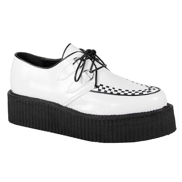 Low Shoes V-CREEPER-502 - PU White