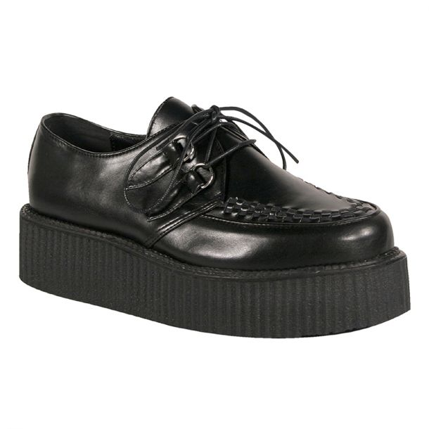 Low Shoes V-CREEPER-502 - PU Black