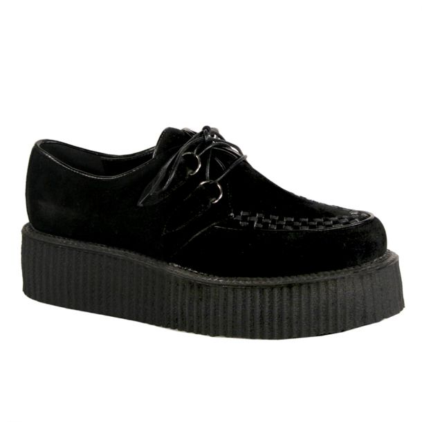 Low Shoes V-CREEPER-502S - Suede Black*
