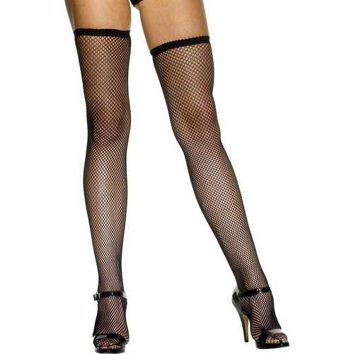 Fishnet Stockings - Black*