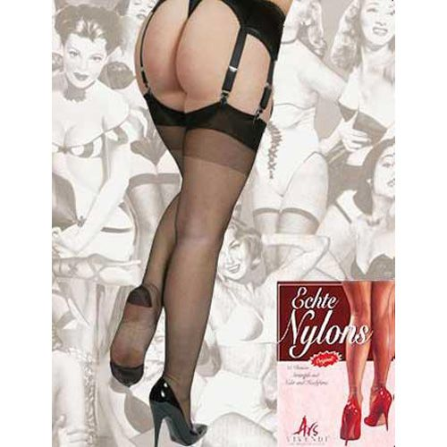 Real Nylons RHT Black*
