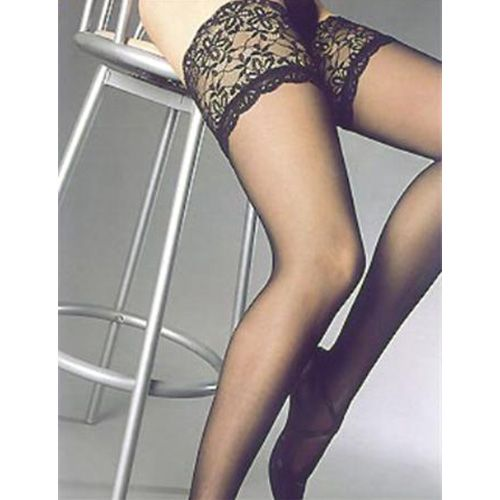 Hold-Up Stockings SENSUAL Black*