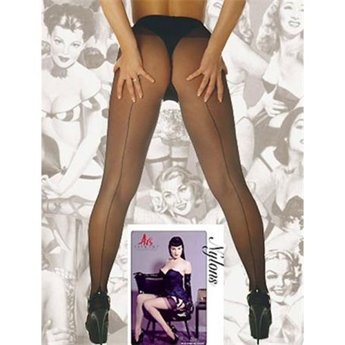 Glamour Tights With Seam Black*