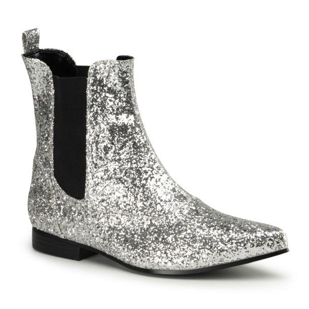 Men Boots CHELSEA-58 - Silver
