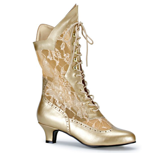 Ankle Boots DAME-115 - Gold