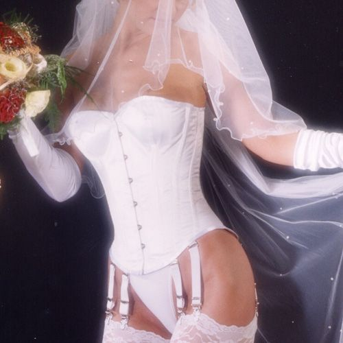 Overbust corset NOBLES : Satin White*