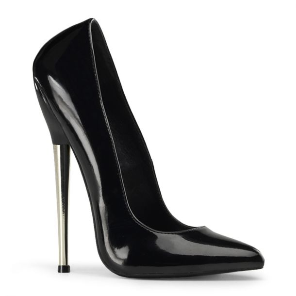 Extreme High Heels DAGGER-01 - Patent Black