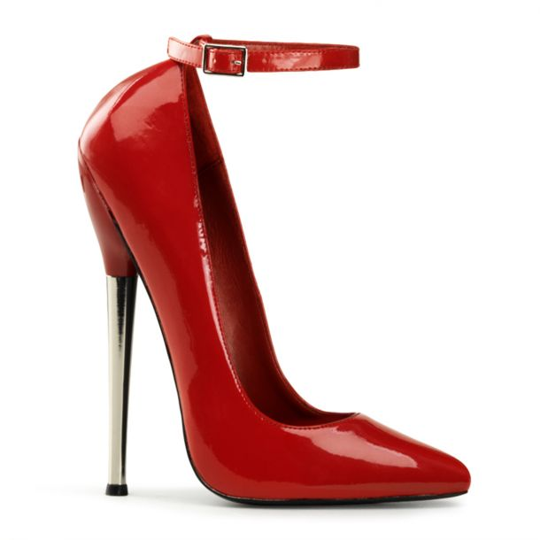 Extreme High Heels DAGGER-12 - Patent Red