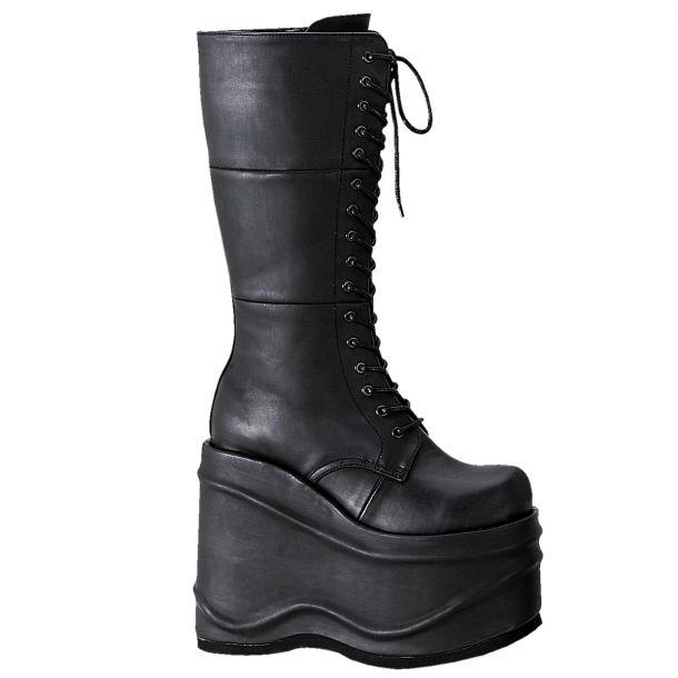 Platform Knee Boots WAVE-302