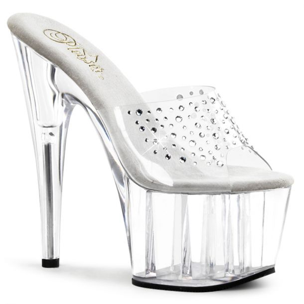 Platform mules ADORE-701RS - Clear