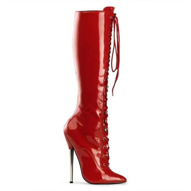 Fetish Boots DAGGER-2020 - Red