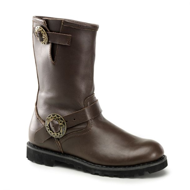 Gothic Boots STEAM - Brown
