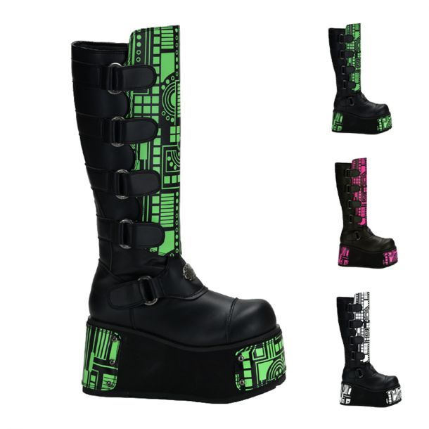 Gothic Boots TECHNO-850UV