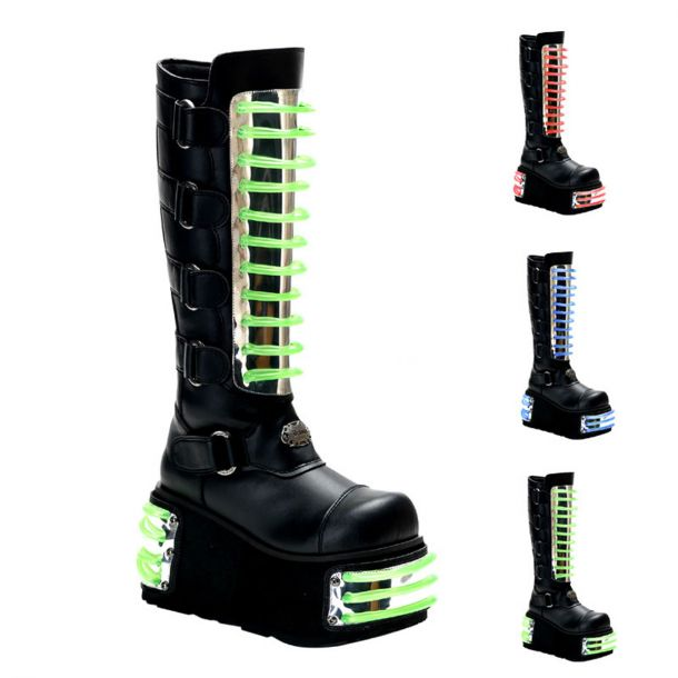 Gothic Boots TECHNO-854UV