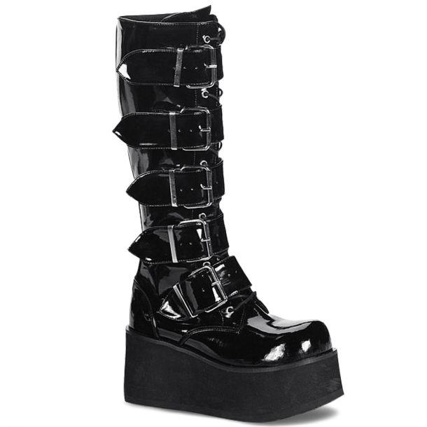 Gothic Platform Boot TRASHVILLE-518 - Patent*
