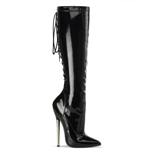 Fetish Boots DAGGER-2064 - Black
