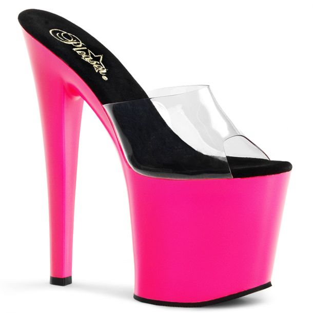 Neon Plateau High Heels TABOO-701UV