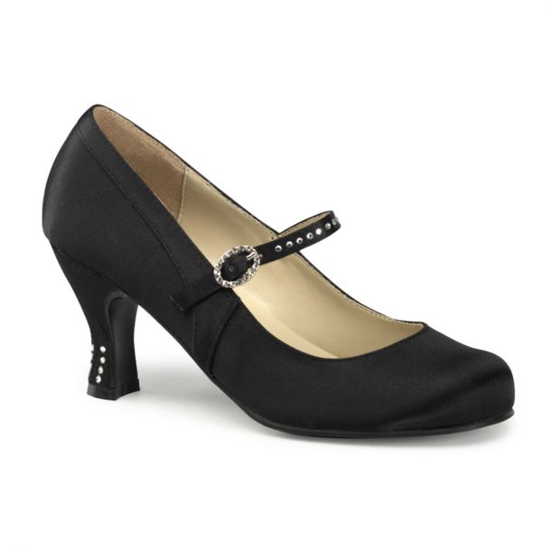 Retro Pumps FLAPPER-20 - Black*