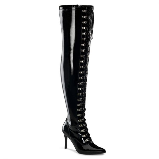 Overknee Boots DOMINATRIX-3024X (Wide Shaft)*