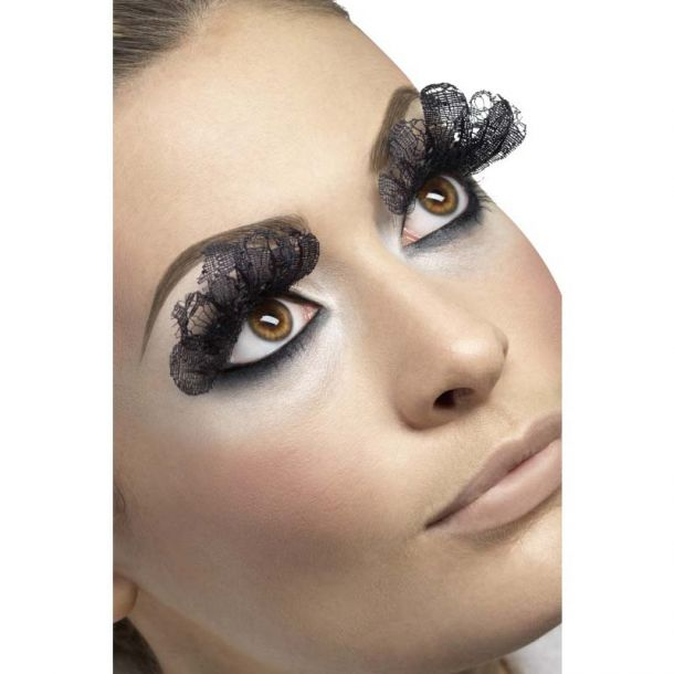 Large Eyelashes, Black Lace*