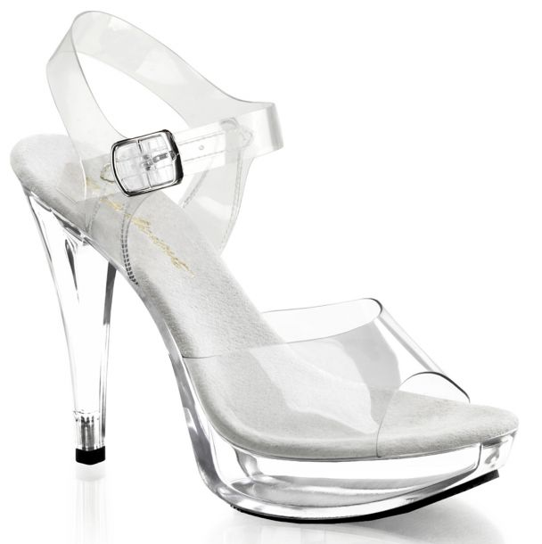 High-Heeled Sandal COCKTAIL-508 - Clear*
