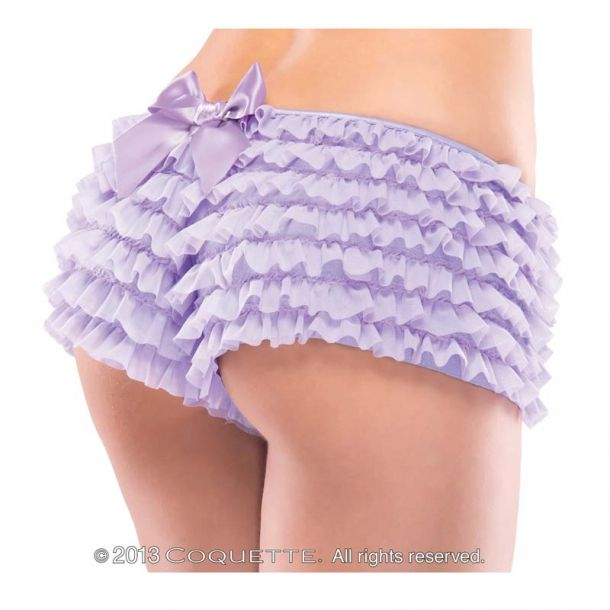 Ruffle Panty with Bow : Lilac*