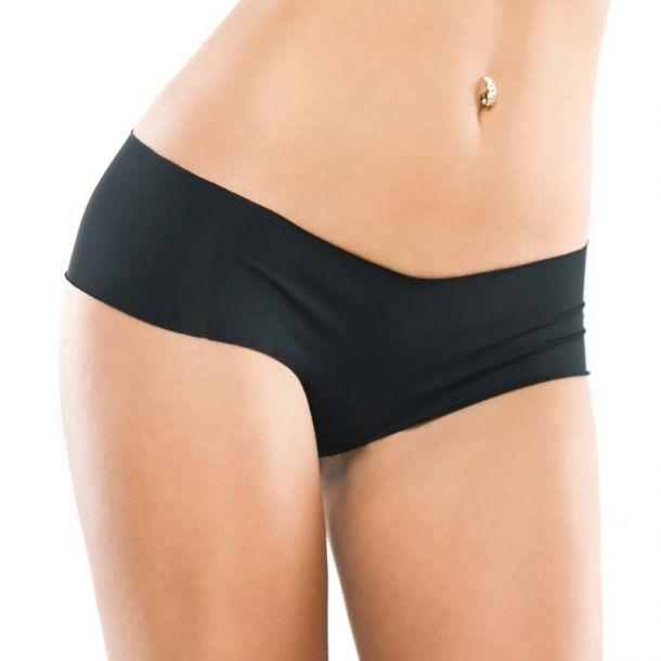 Microfiber Panty - Black*