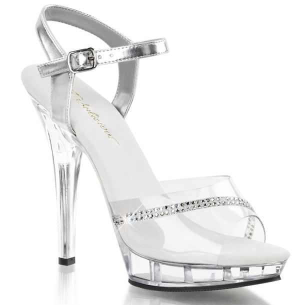 High-Heeled Sandal LIP-108R - Clear/Clear*