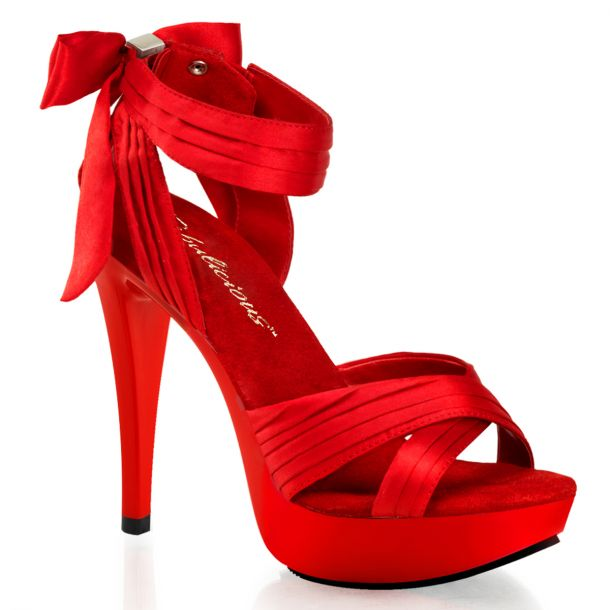 Platform Sandal COCKTAIL-568 - Red