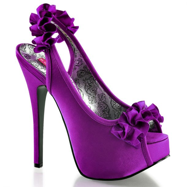 Platform Pumps TEEZE-56 - Purple