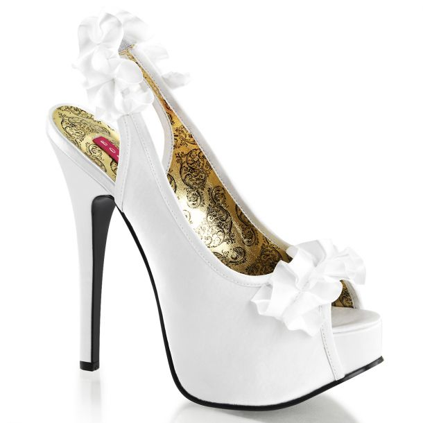 Platform Pumps TEEZE-56 - White