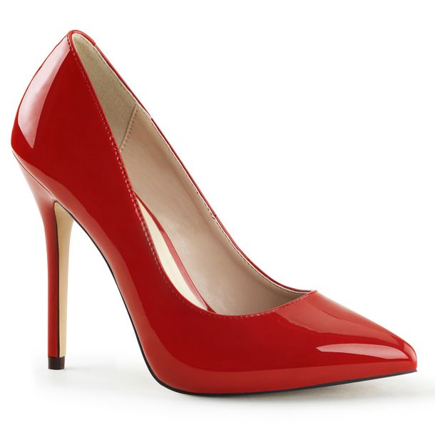 Pumps AMUSE-20 - Patent Red