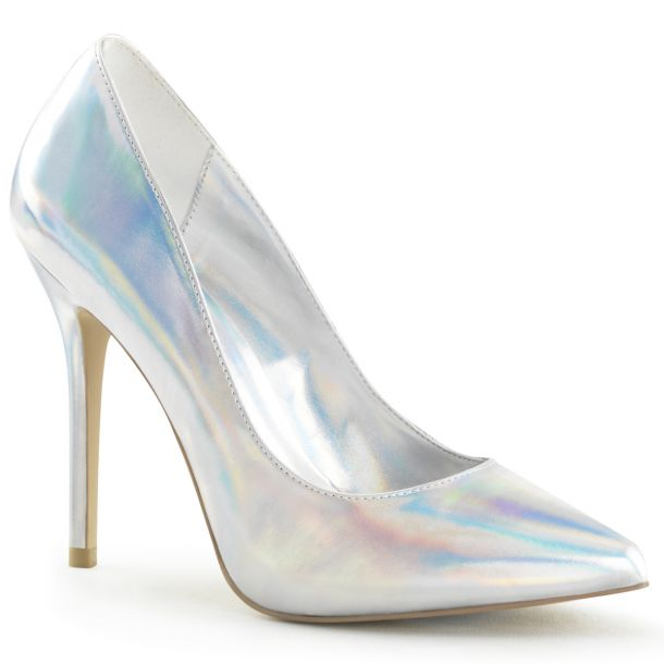 Pumps AMUSE-20 - PU Silver Hologram