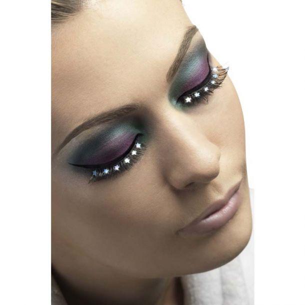 Eyelashes, Black with Stars*