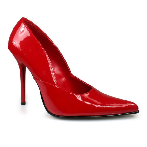 Pumps MILAN-01 - Patent Red