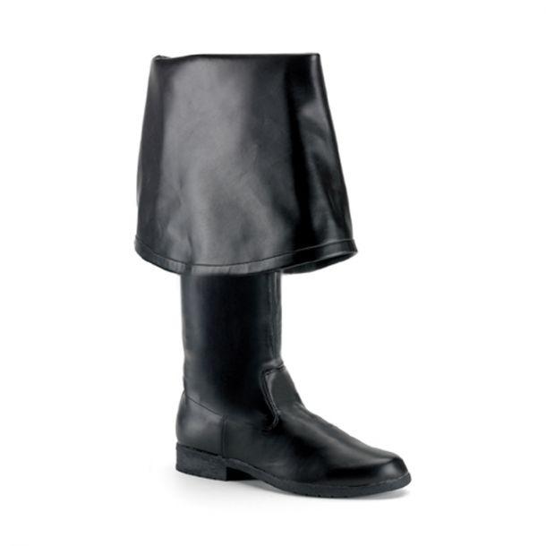 Knee Boot MAVERICK-2045 - PU Black