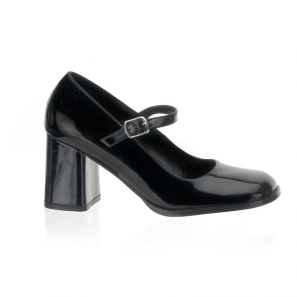 Mary Janes GOGO-50 - Patent Black