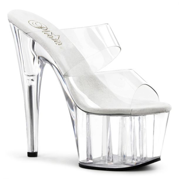 Platform mules ADORE-702 - Clear
