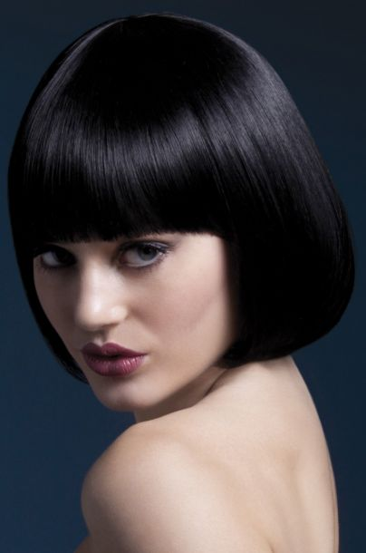 Bob Wig MIA, short - Black*