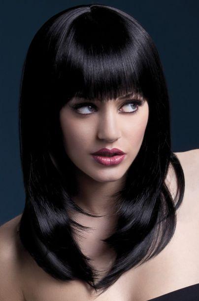 Longhair Wig TANJA - Black