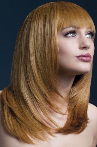 Longhair Wig TANJA - Auburn