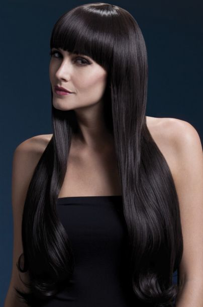 Longhair Wig BELLA - Dark Brown*