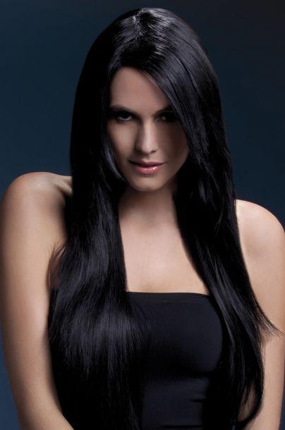 Longhair Wig AMBER - Black